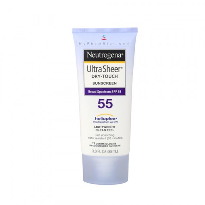 kem chống nắng Neutrogena Ultra Sheer Dry Touch SPF 55 - 88 ml 1