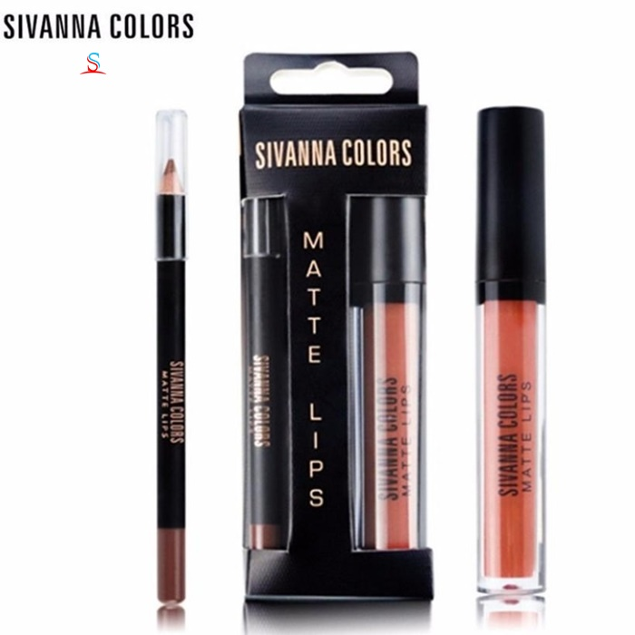 Son Kem lì Sivanna Colors Matte Lips 1