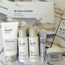 Set dưỡng mini Blanclouding With White Seed The Face Shop