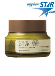Kem Dưỡng Da Olive Essential - The Face Shop
