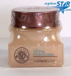 Kem Dưỡng Da Trị Mụn Clean Face Oil Free Control Cream - The Face Shop