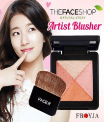 Phấn má lesson 04 The Face Shop - Lesson 04 Artist Cube blusher