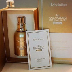 Tinh Chất JM 30ml Solution 24K Gold Premium Peptide All In One