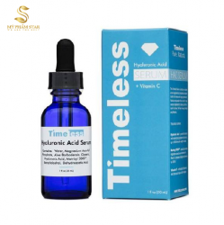 Tinh chất Timeless Vitamin C hyaluronic acid 30ml